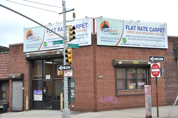 Flat Rate Carpet Warehouse at 777 Meeker Ave, Brooklyn