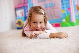 Girl on Carpet   Flat Rate Blog