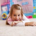 Girl Playing | Flat Rate Carpet