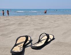 Beach Sandals | Flat Rate Carpet Blog