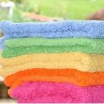 clean towels