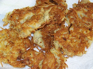 Hanukkah Latkes | Flat Rate Carpet Blog