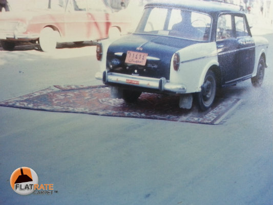 carpet cleaning car
